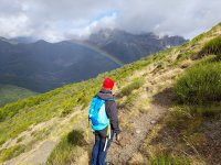 Arco iris sobre Valdeón