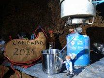 TC-4 campamento 2021. En la cocina